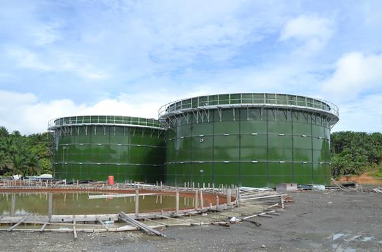 New type wastewater storage tank