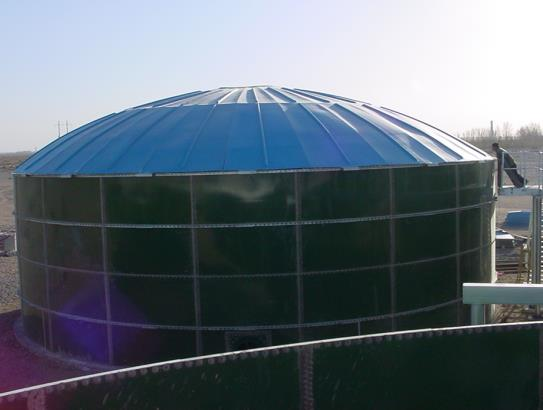 biogas anaerobic bolted tank