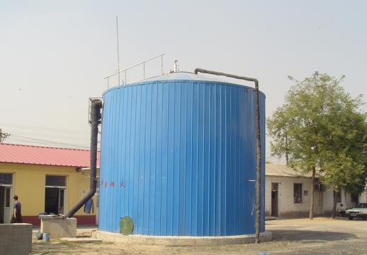 biogas anaerobic fermentor of enamel plate