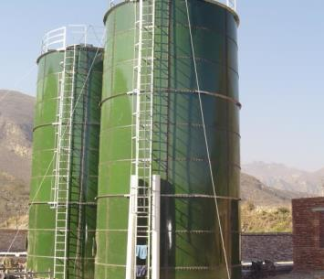 biogas bolted anaerobic reactor