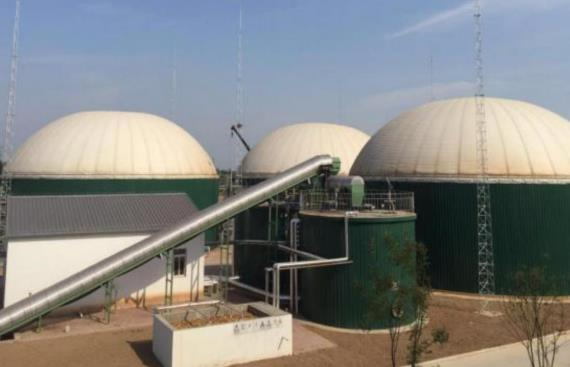 biogas bolted storage tanks