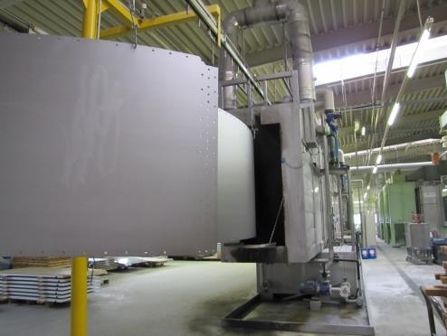 biogas reactor tank enamel steel plate