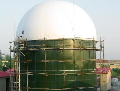 biogas station tanks