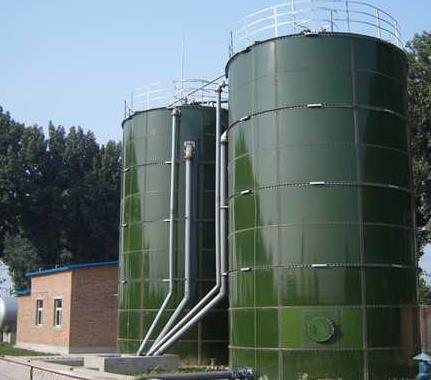 bolted biogas digester