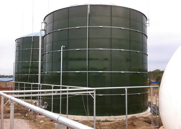 bolted biogas reactor