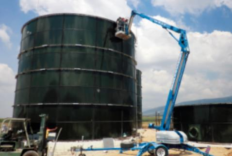 bolted steel tank design