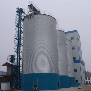 chicken food silo