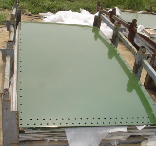 enamel coated steel sheet
