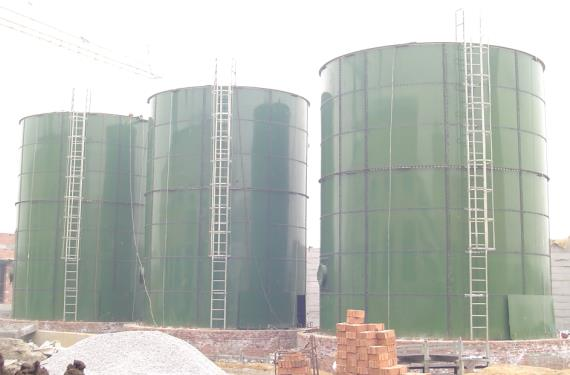 glass enamel coated tanks