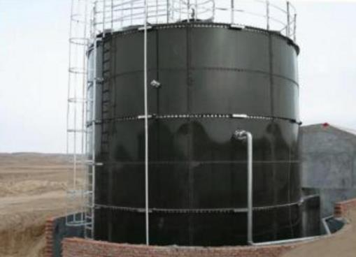 large bolted waste water tanks