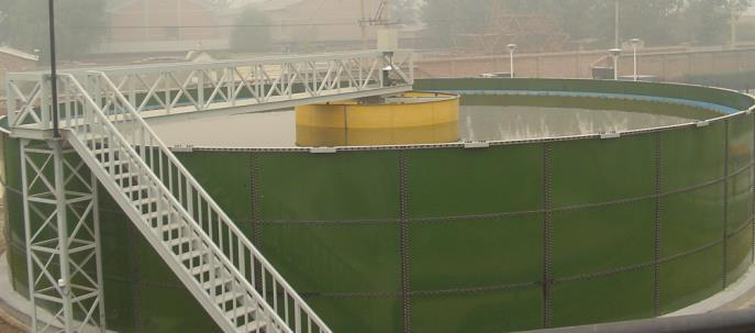 polyplast biogas plant tank