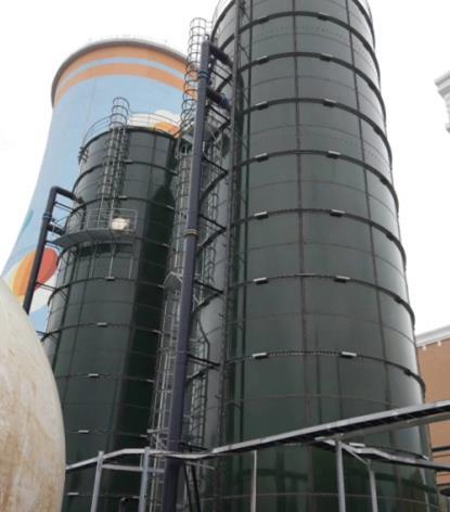 polyplast biogas tank