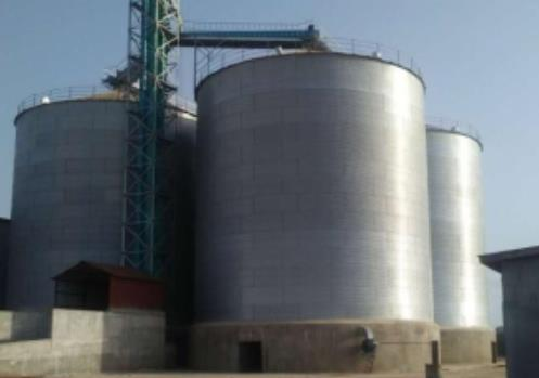 steel food grain silo