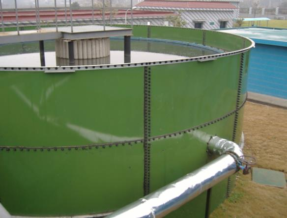 steel tanks for wastewater storage