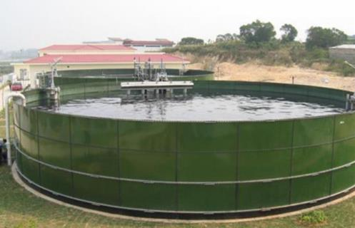 wastewater storage tank cost