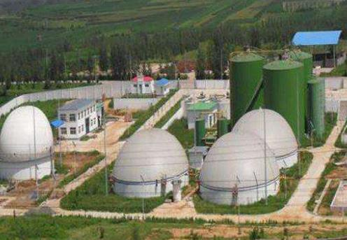 what are the sizes of storage tank for biogas