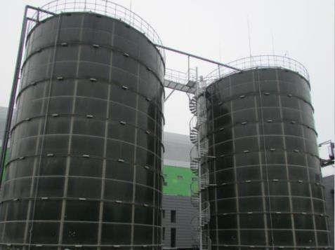 enamel assembled tank